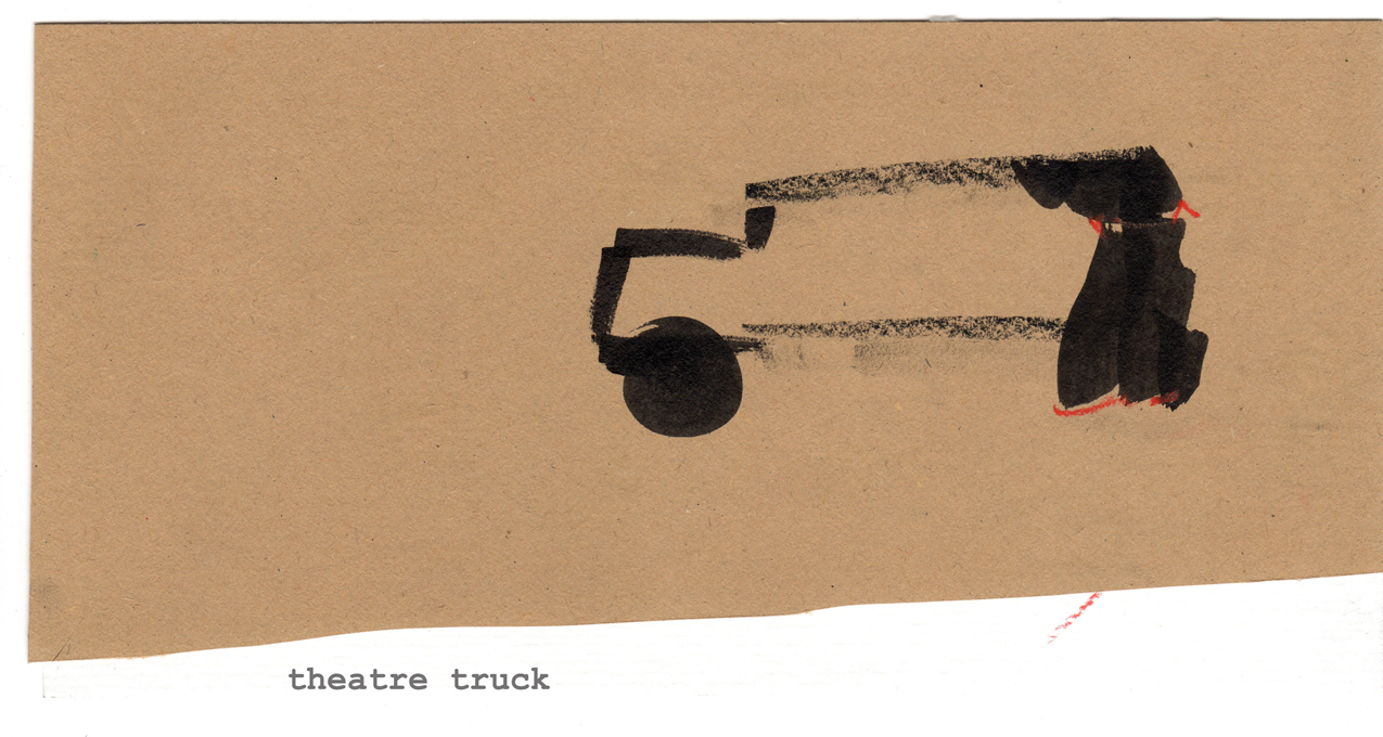 Theater truck