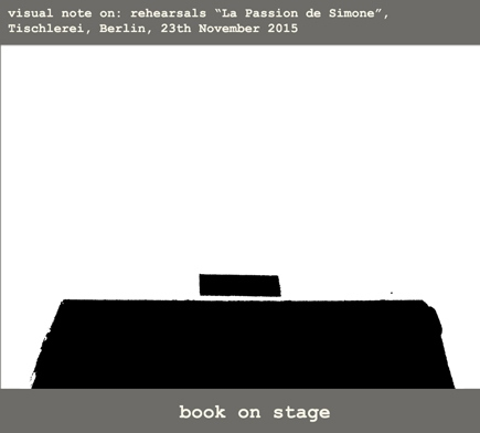9.Book on stage
